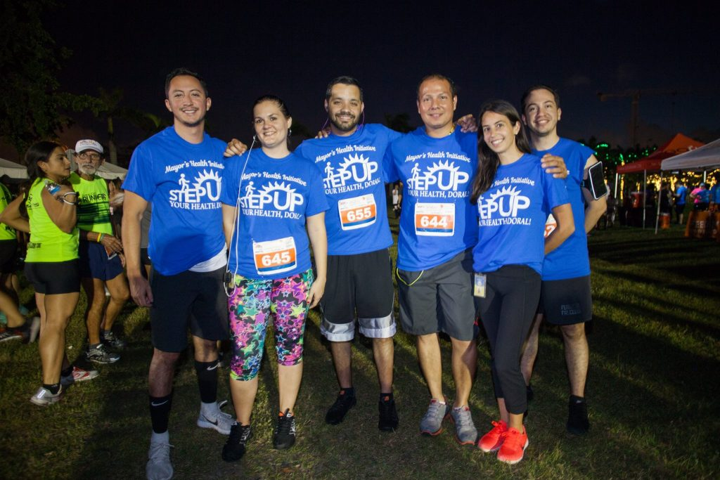stepupdoralteam Corporate Run